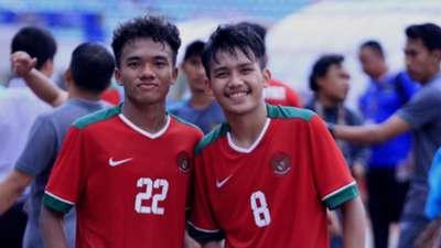 Dedi Tri & WItan Sulaeman Timnas Indonesia U-19