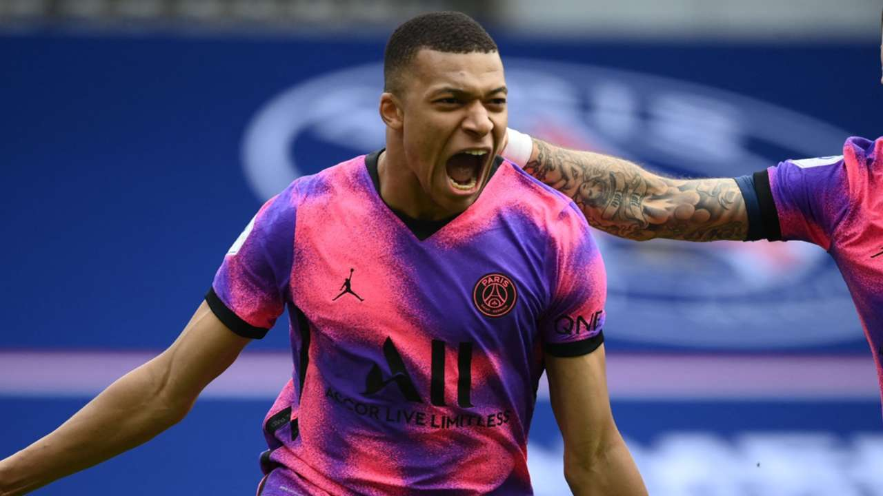 Kylian Mbappe Paris Saint-Germain PSG 2020-21