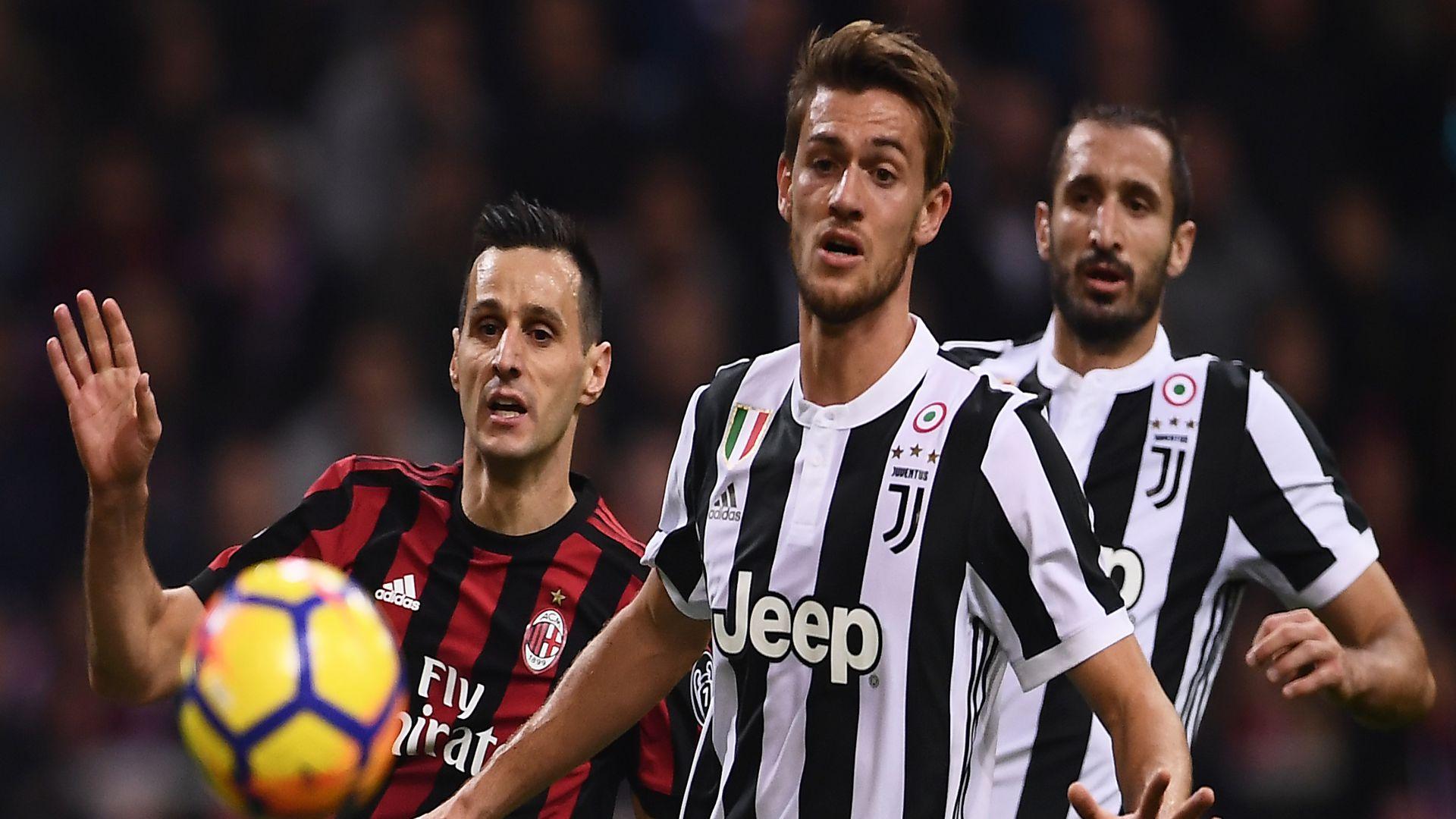 Daniele Rugani Milan Juventus