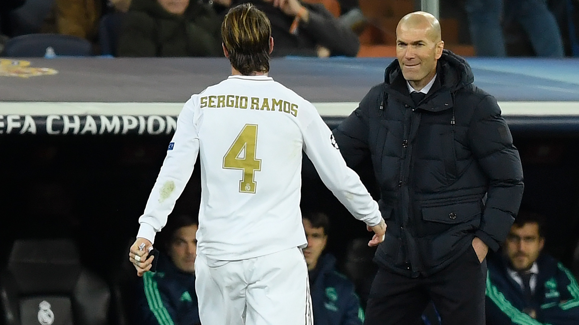 Zidane veut voir Sergio Ramos prendre sa retraite au Real Madrid