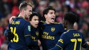 Arsenal celebrate 2019-20