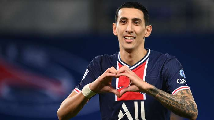 Angel Di Maria PSG Rennes Ligue 1 07112020