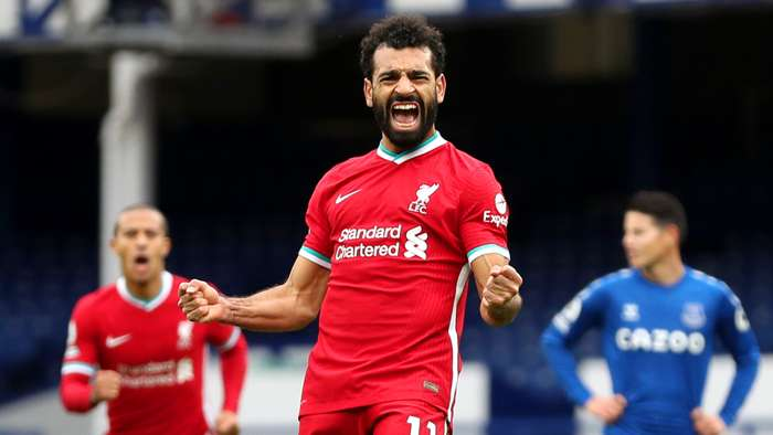 Mohamed Salah Liverpool Everton 2020-21