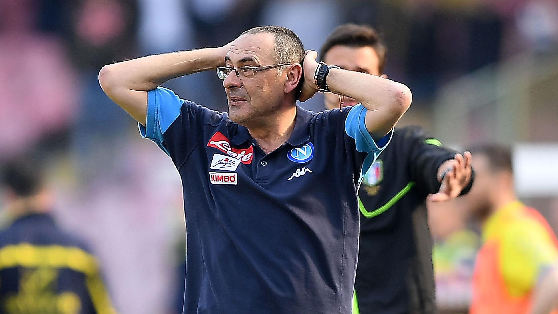Maurizio Sarri Napoli Chievo