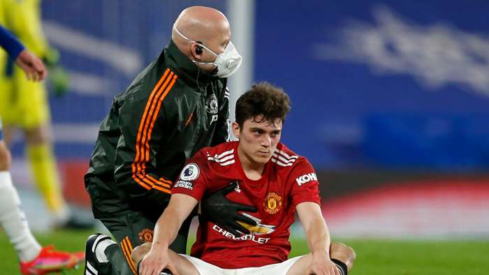 Daniel James Chelsea vs Man Utd Premier League 2020-21
