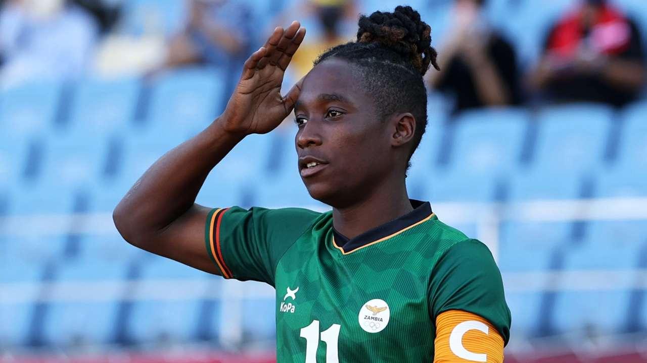 Barbra Banda of Zambia.