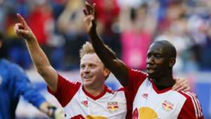 Dax McCarty Bradley Wright-Phillips New York Red Bulls