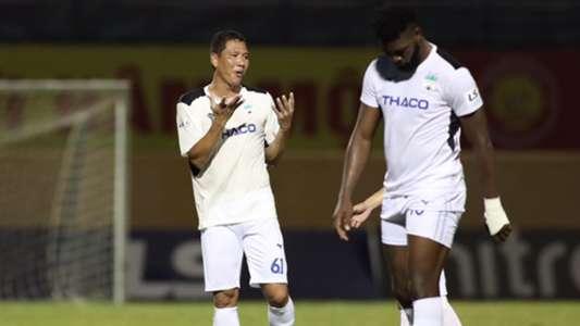 (V.League) HLV Lee Tae-hoon: HAGL bị tâm lý nặng nề từ lúc chưa đá với SLNA