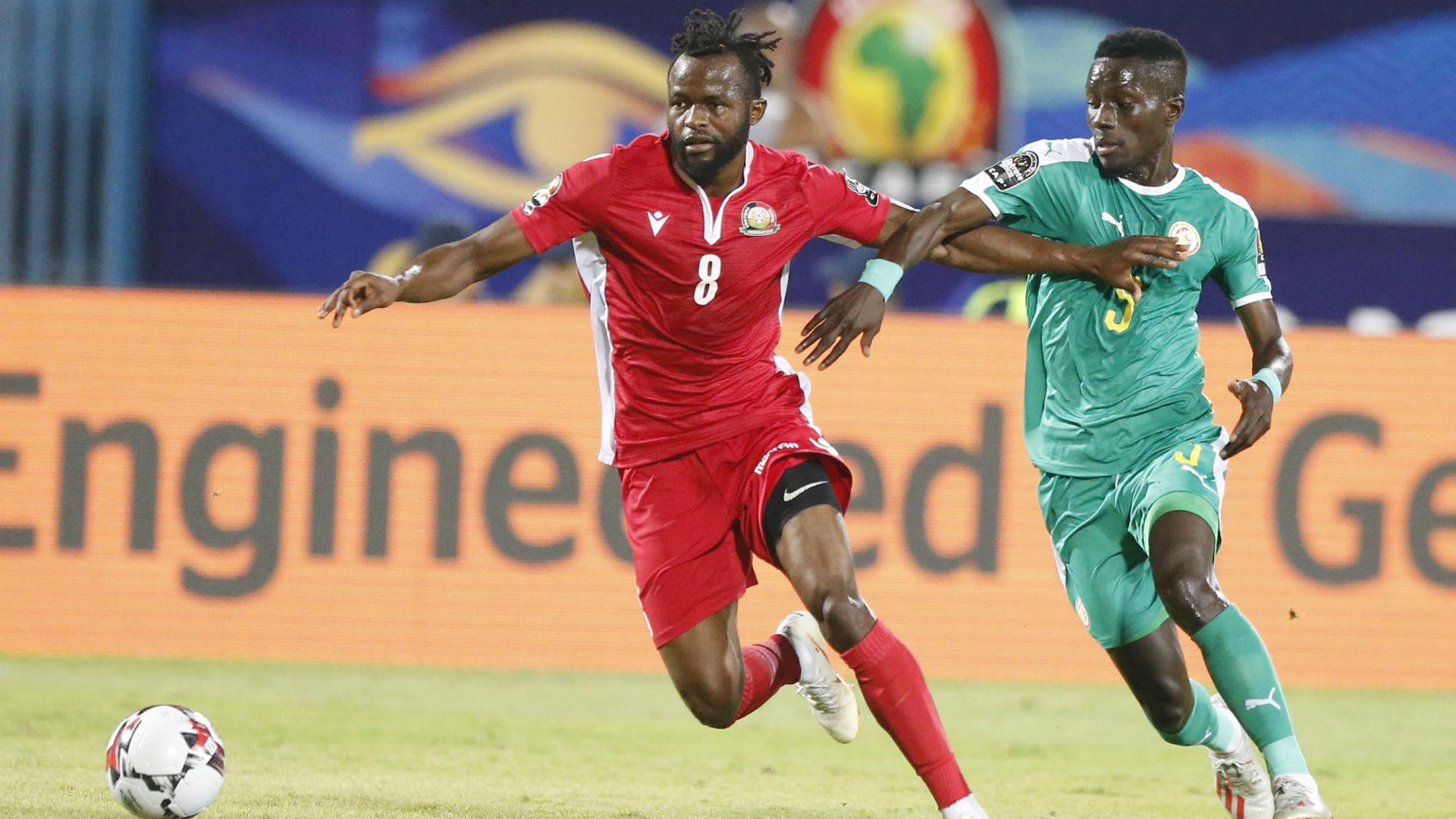 Omolo: Harambee Stars midfielder proposes to girlfriend in Paris