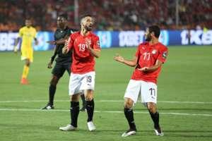 مصر - زيمبابوي محمد النني و عبد الله السعيد