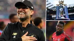 Jurgen Klopp Premier League Paul Pogba 2019-20