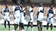 Victor Wanyama ofd Harambee Stars in training.j