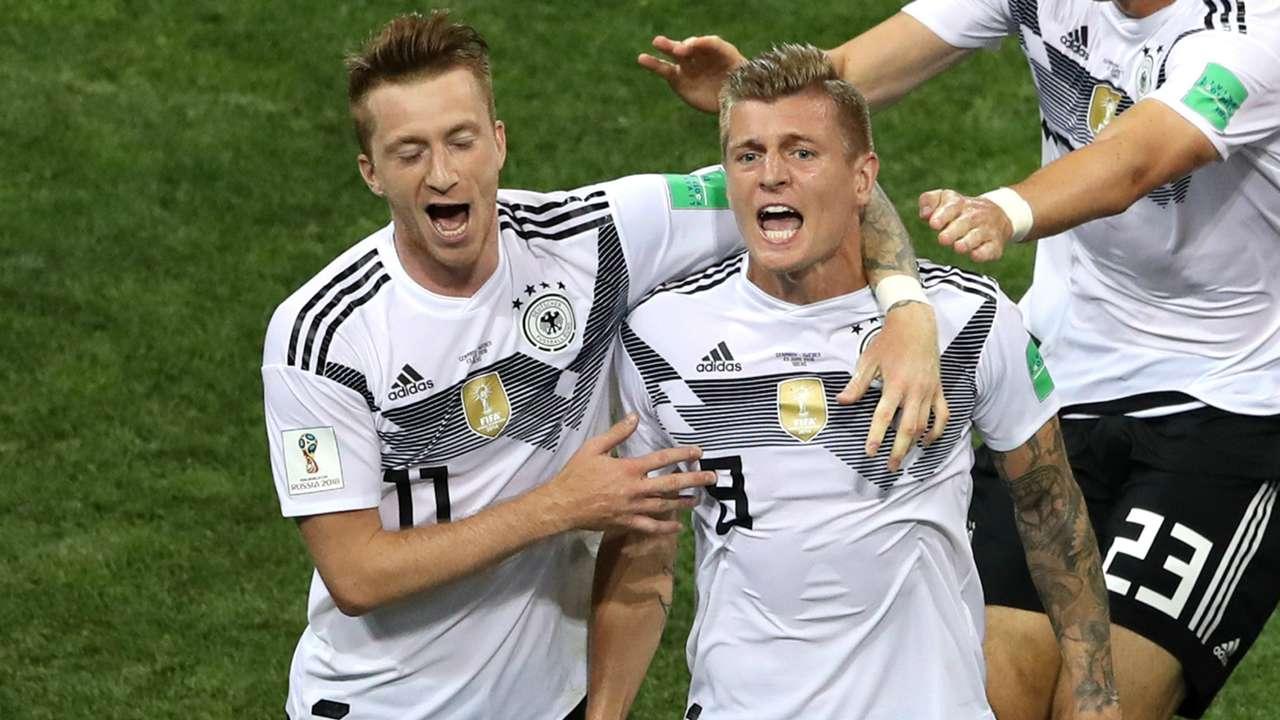 Marco Reus Toni Kroos Germany Sweden World Cup 2018