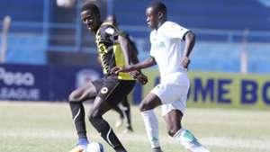 Clyde SENAJI (Tusker FC) and AFC Leopards v Sony Sugar.