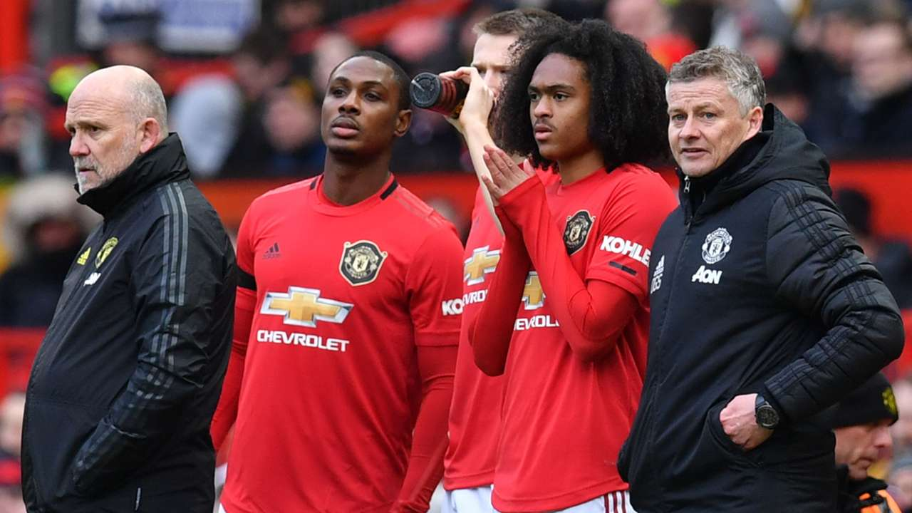 Manchester United substitutes 2019-20