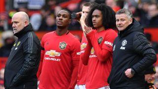 Manchester United substitutes 2019-20