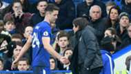 Gary Cahill Chelsea Leicester City