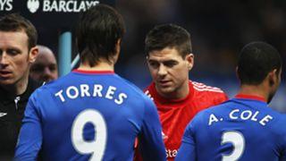 Steven Gerrard Fernando Torres Liverpool Chelsea Premier League