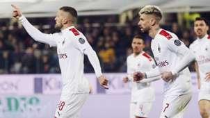 Rebic Fiorentina Milan Serie A