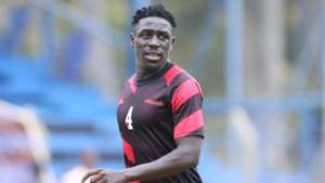 Harambee Stars defender Brian Mandela.
