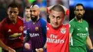 Chilenos en Champions League