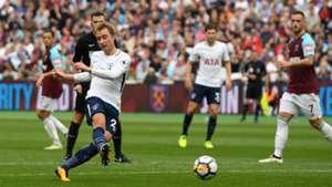 Christian Eriksen, West Ham v Tottenham 17/18