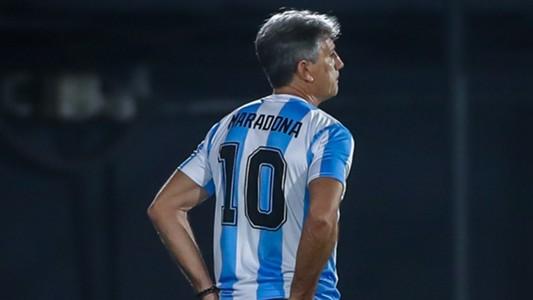 Renato Gaúcho Maradona Grêmio Guaraní Libertadores 26 11 2020