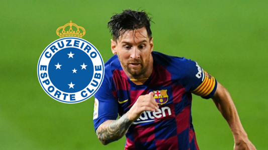 Cruzeiro 'announce' move for Barcelona star Messi after website hack - Goal