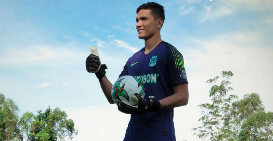 Aldair Quintana nuevo arquero atlético Nacional