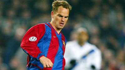 Frank de Boer Barcelona nostalgia