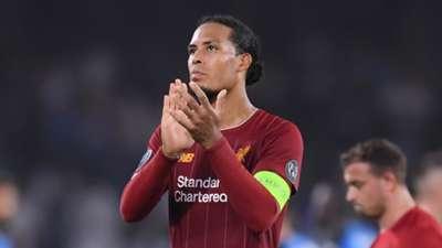 Virgil van Dijk, Napoli vs Liverpool