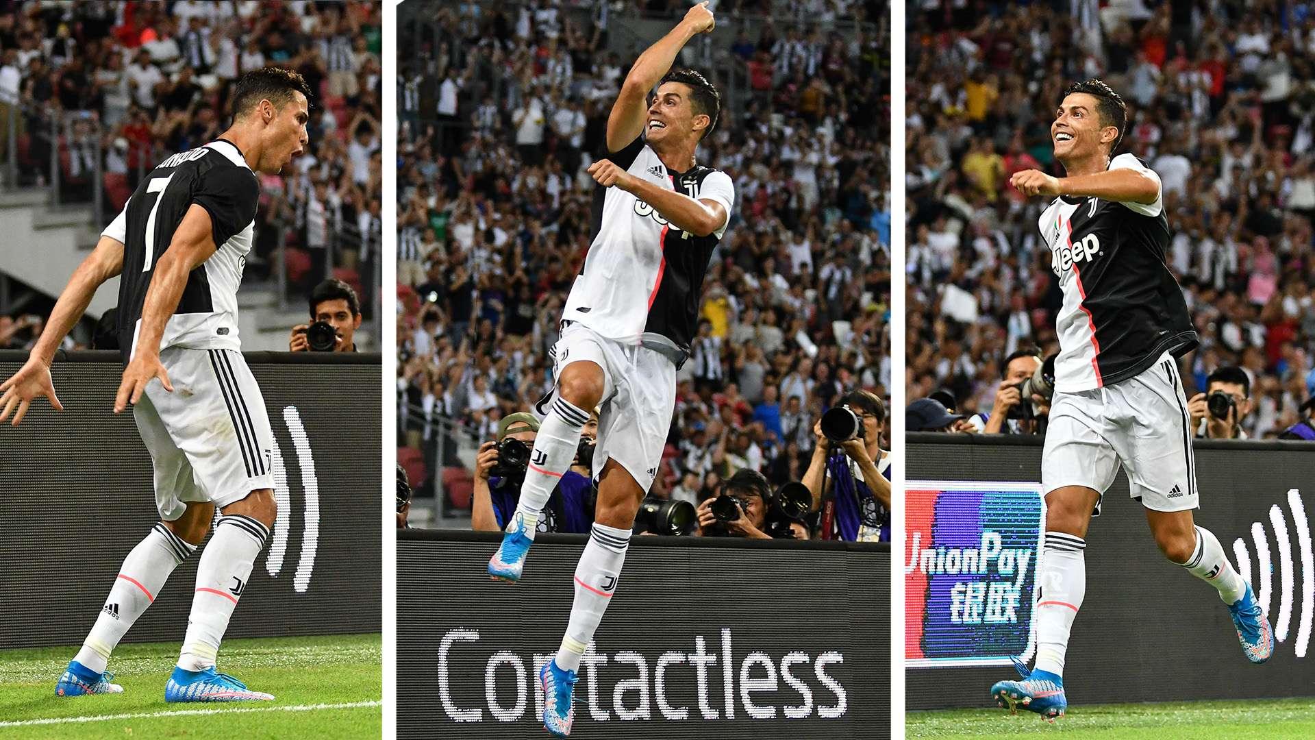 Cristiano Ronaldo 2020 Celebration