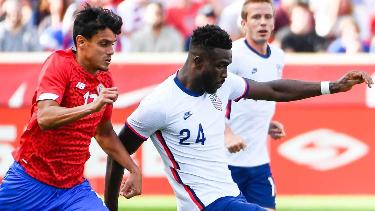 Dike Costa Rica USMNT 2021