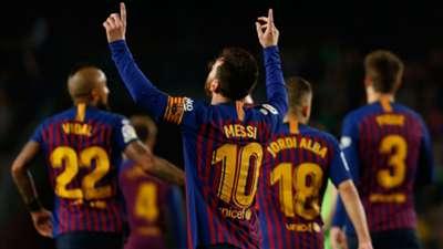 Lionel Messi Barcelona La Liga 04272019