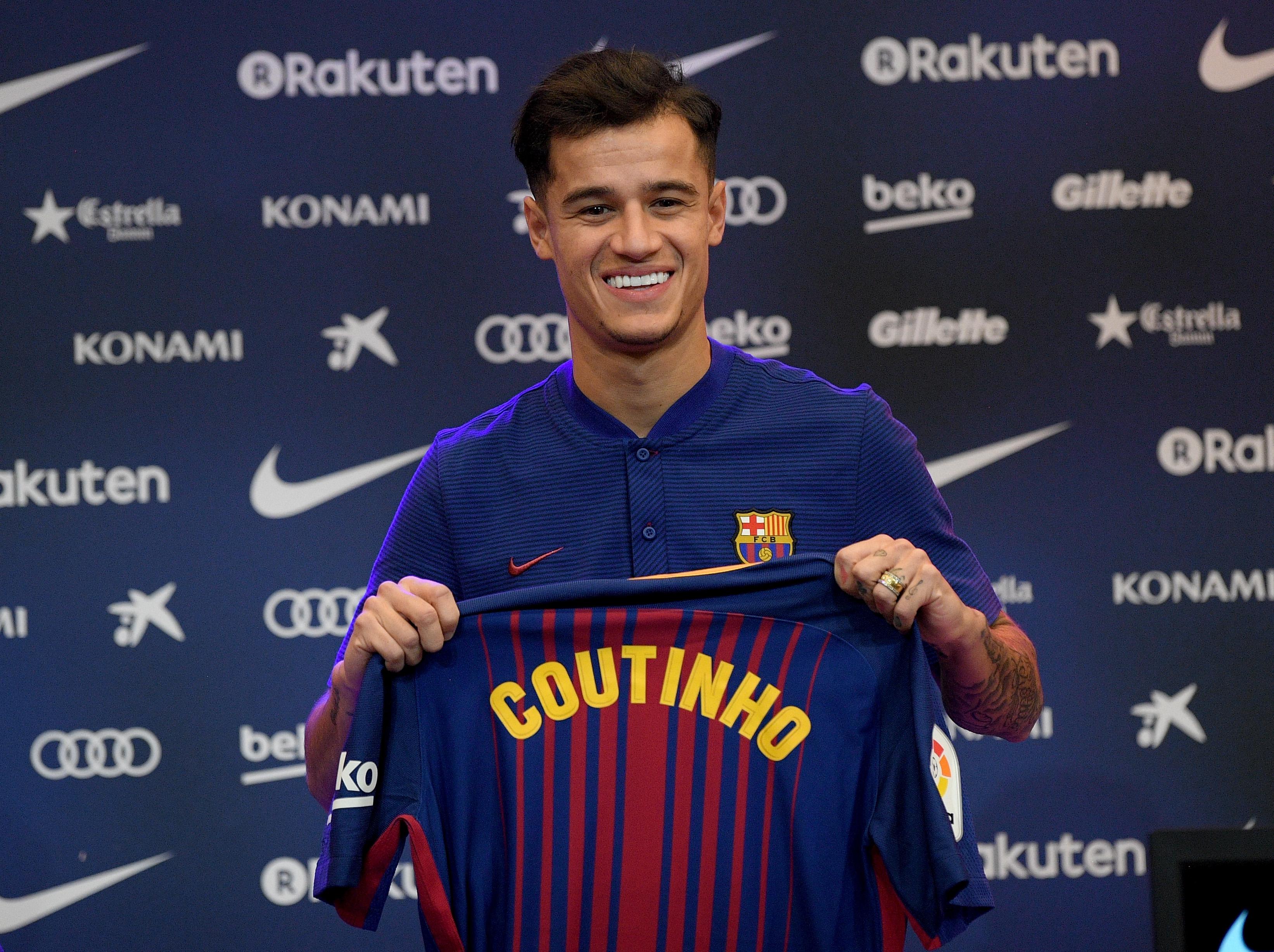 Coutinho Barcelona presentation
