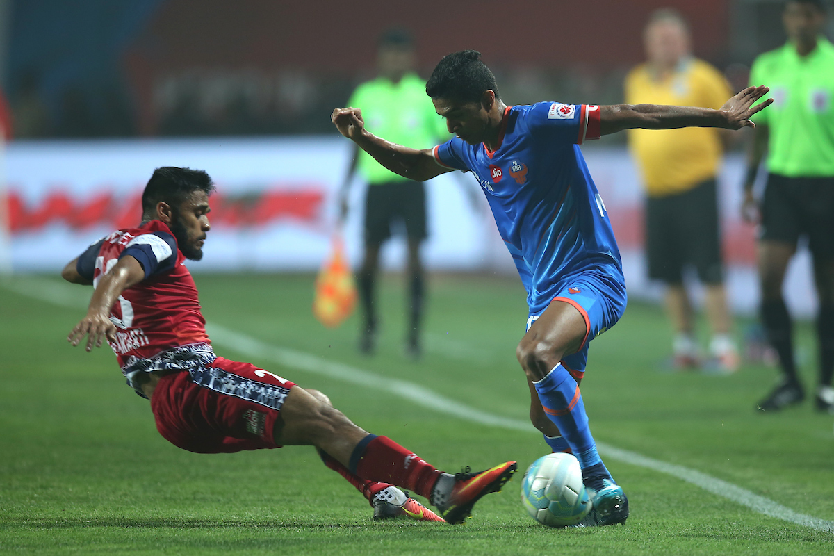Souvik FC Goa vs jamshedpur
