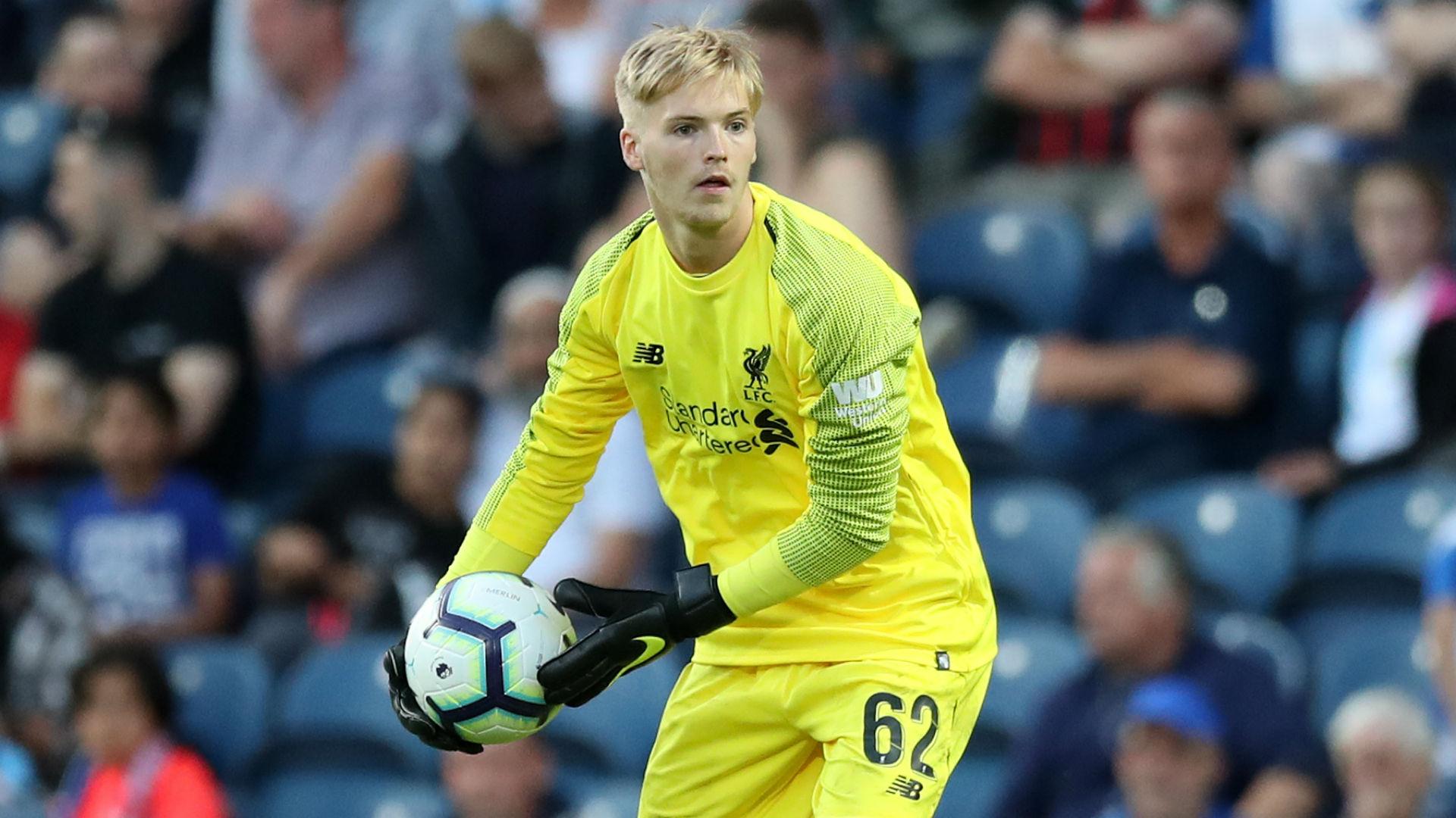 Caoimhin Kelleher Liverpool 2018-19