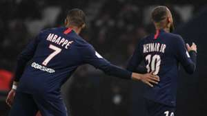 Kylian Mbappe Neymar PSG 2019-20
