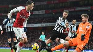Mesut Ozil Arsenal Newcastle