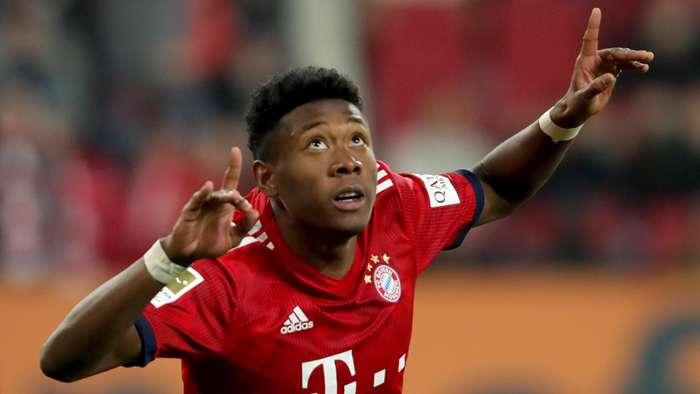 David Alaba Bayern Munich 2018-19