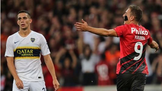 Marco Ruben Athletico Boca Juniors Libertadores 02 04 2019