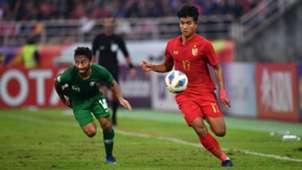 Suphanat Mueanta | U23 Thailand vs U23 Saudi Arabia | AFC U23 Championship 2020 | Quarter Finals