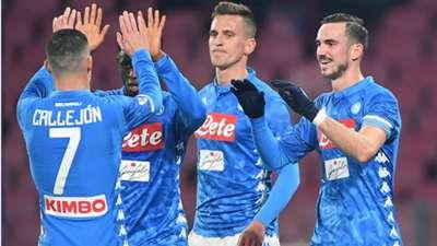 Napoli Sassuolo Coppa Italia