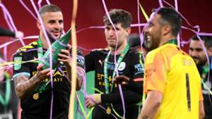 Claudio Bravo Kyle Walker Manchester City Carabao Cup final 2019-20