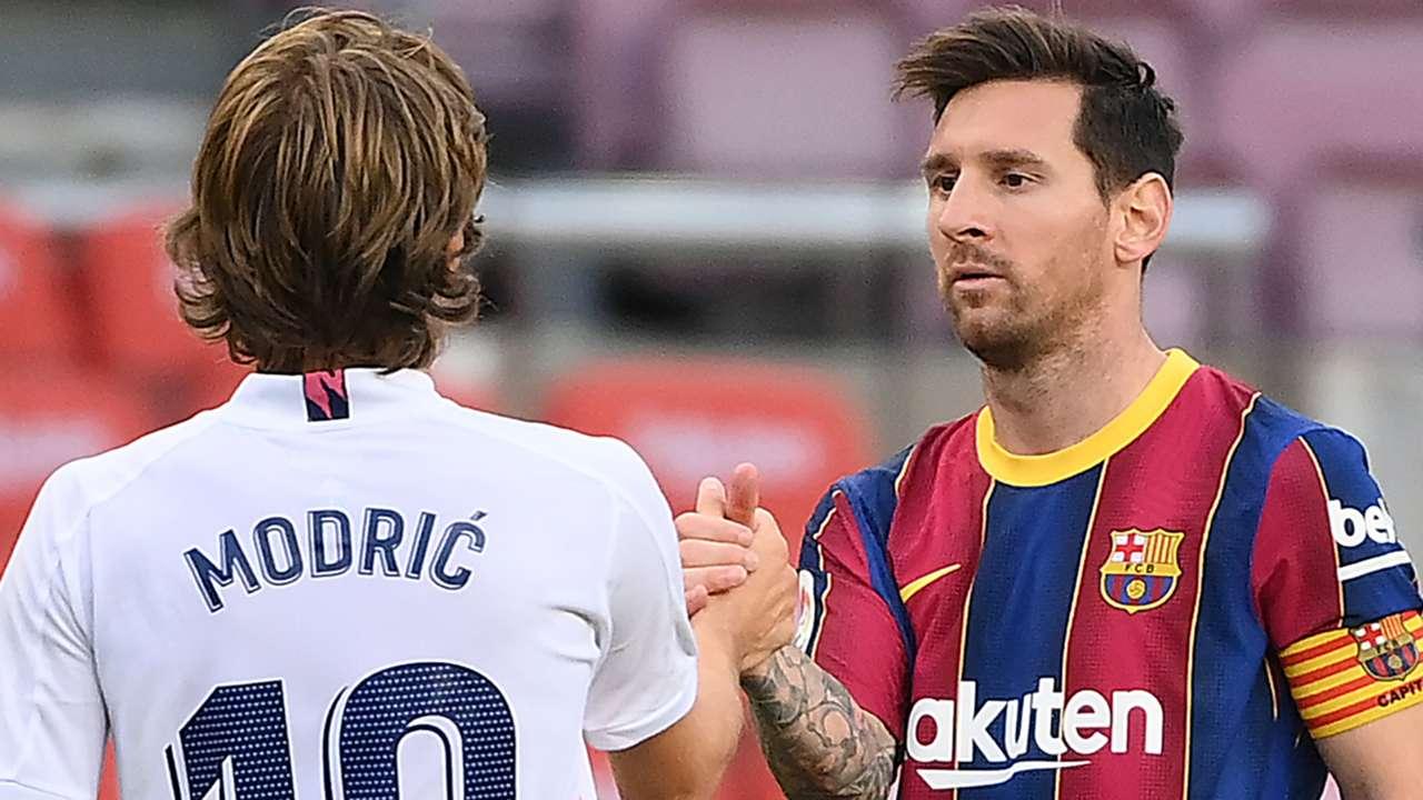Luka Modric Real Madrid Lionel Messi Barcelona 2020-21