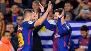 Jordi Alba Lionel Messi