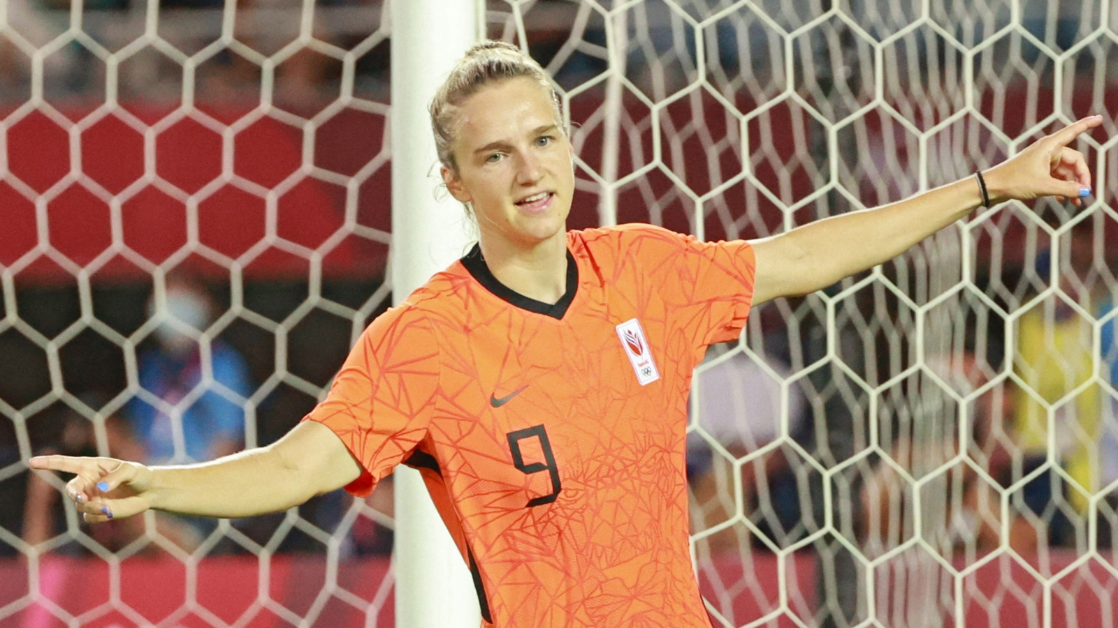 Miedema breaks Olympics record after scoring twice in Netherlands' 8-2 rout of China