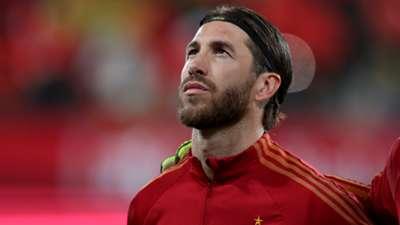 Sergio Ramos Spain 2019