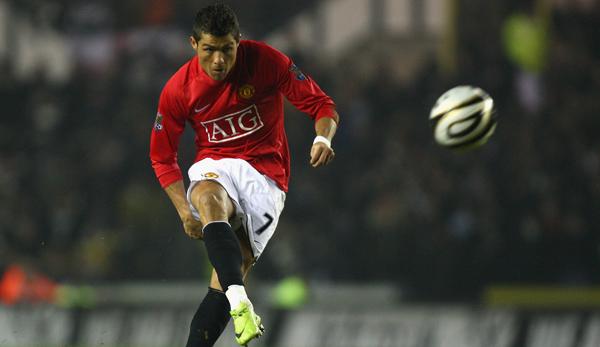 Cristiano Ronaldo Manchester United 07012009