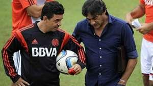 Marcelo Gallardo Enzo Francescoli River Plate